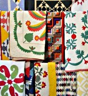 Display of Antique Quilts