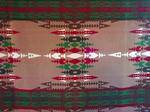 Pendleton Indian Trade Blanket- Browns, red, green-SOLD