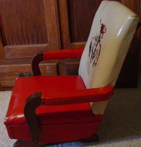 1950 S Cowboy Childs Rocking Chair Sold Cindy Rennels