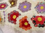 Small Scale Flower Garden Blocks-9 total  SOLD