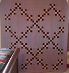 9 Patch Single Irish Chain Quilt- Mennonite??  SOLD