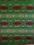 Cayuse Indian Trade Blanket- Green, red