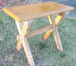 A Brandt Ranch Oak Side Table