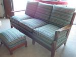 Rare A Brandt Ranch Oak Saguaro Couch  SOLD