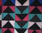 Flying Geese Quilt-solids   SOLD