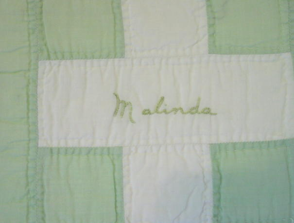 another name-Malinda