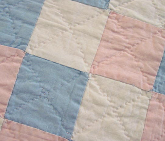 close up of colors and quilting