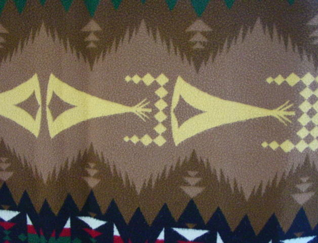 view of tepee pattern