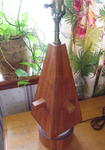 A Brandt Ranch Oak Table Lamp  'Sold