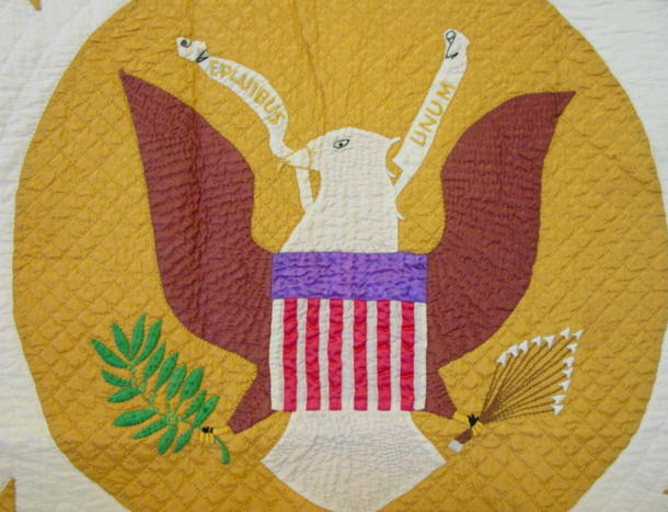 view of center of quilt