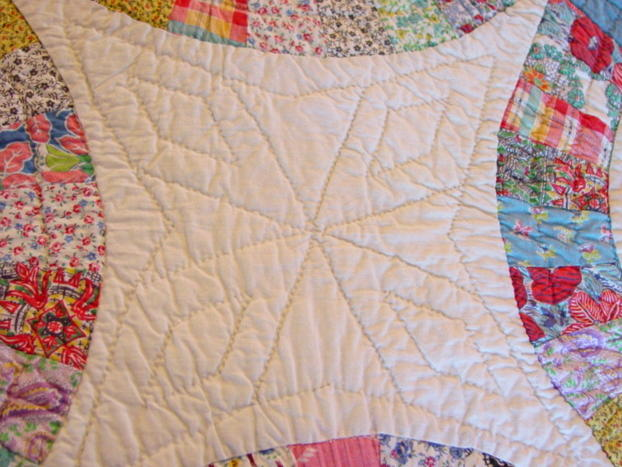 Double Wedding Ring Quilt With Outer Border Sold Cindy