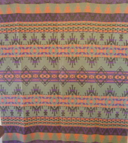 full view of Esmond brand blanket
