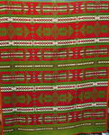 1920's Wool Pendleton Indian Trade Blanket- reds/green
