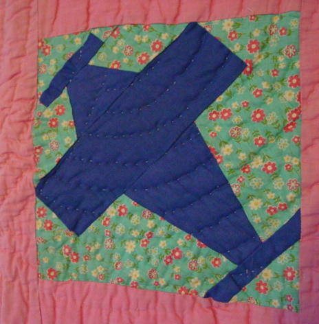 view of quilt block