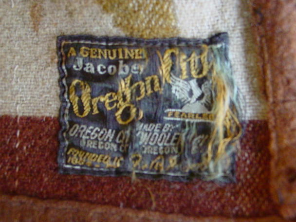the Oregon City label- a Genuine Jacobs