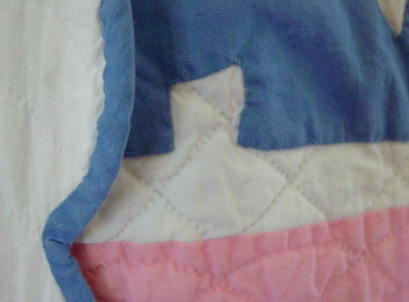 edge binding and quilting