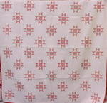 Red and White Ohio Stars Quilt   SOLD
