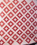 Red and White Album Quilt - SOLD