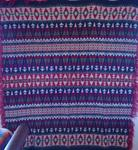 Beacon Indian Blanket- Shawl-red, blue, green  SOLD