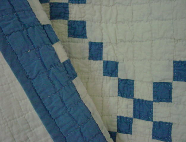 shows binding and quilting