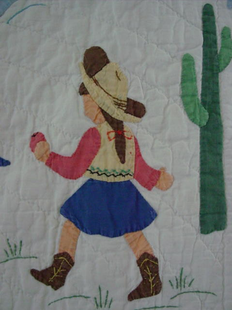 image of the cowgirl