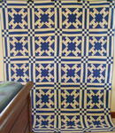Autograph/Signature  Quilt- Blue and White SOLD