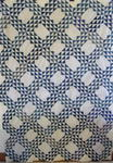 Blue and White Ocean Waves Quilt Top  SOLD