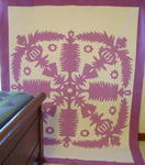Hawaiian Applique Quilt-