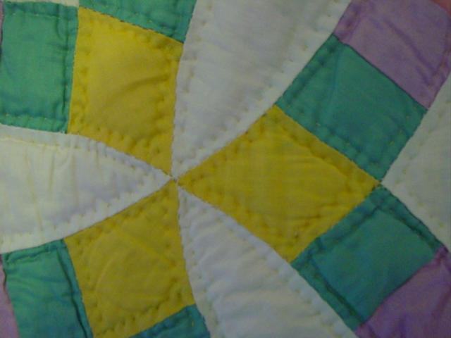 view of nice quilting
