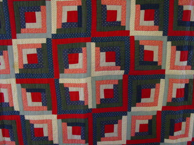 view of the central area of the quilt