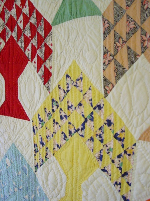 Tree Of Life Quilt Cindy Rennels Antique Quilts