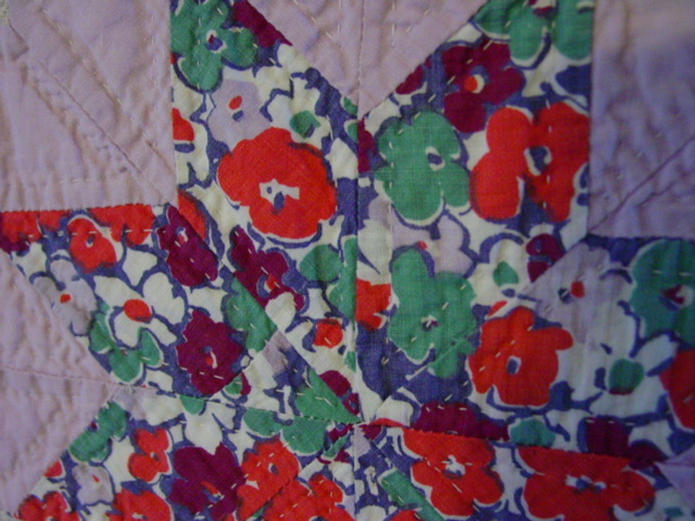 shows fabric and quilting