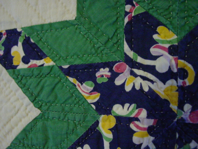 another close up of quilting