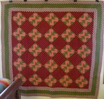 Double E Antique Quilt with Fantastic Borders-SOLD