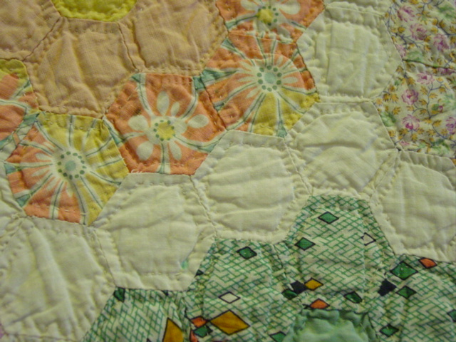 nice small quilting stitches
