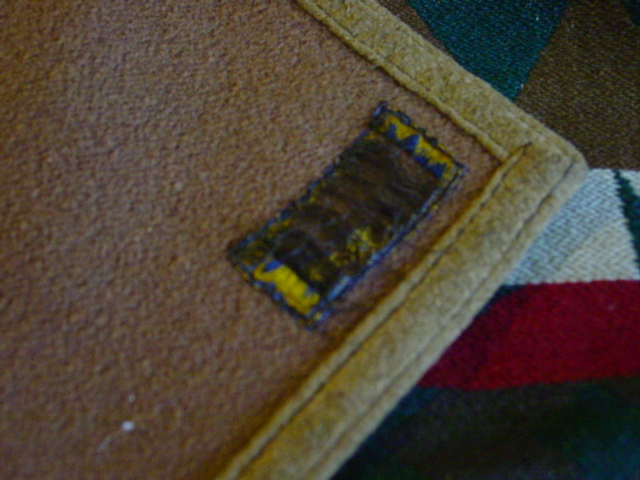 closer view of the original binding