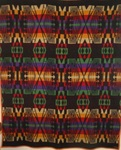 Cayuse Indian Trade Blanket with Label   SOLD