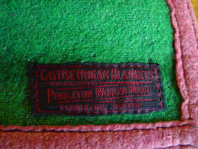 the original Cayuse label in the corner