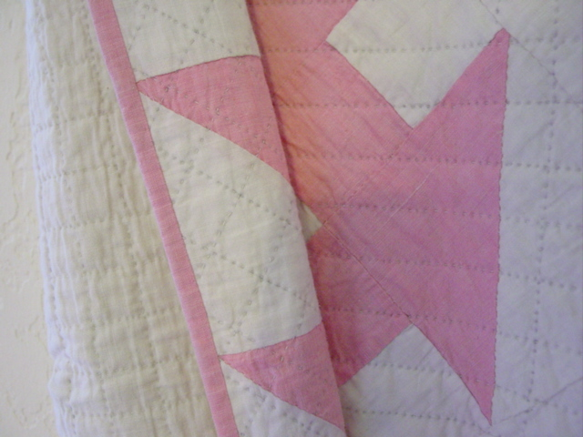 nice binding and quilting quality
