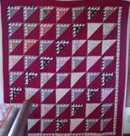 Flock of Geese Quilt with Border