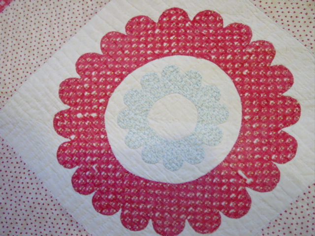 double quirky circles block
