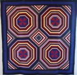 Rainbow Spiderweb Wall Quilt -  BJ Haines Collection