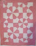 Springtime Blossoms Crib/Doll Quilt -     Sold