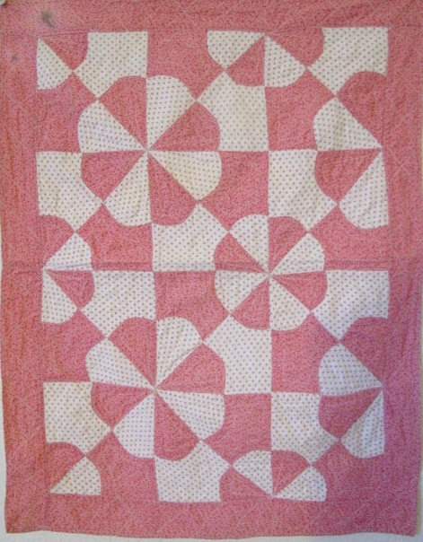 full view of the Springtime Blossoms small quilt