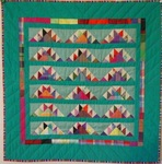 Delectible Mountains Crib Quilt- BJ Haines Collection