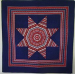 String Star with Border-Wall Size Quilt- BJ Haines SOLD