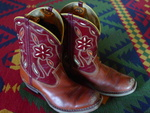 Vintage 1950's Kids Cowboy Boots- click pic for boots!!
