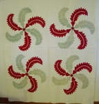 Princess Feather Applique Quilt