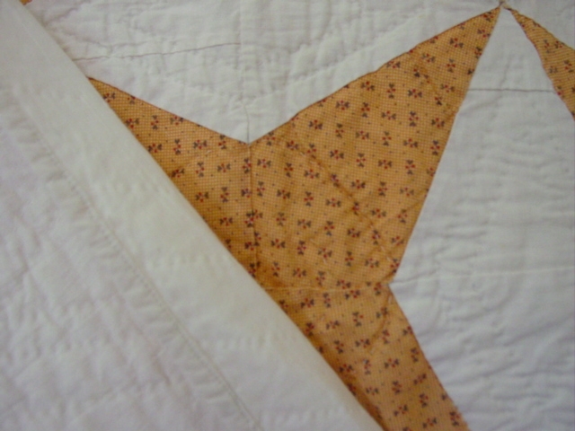 shows binding edge and quilting