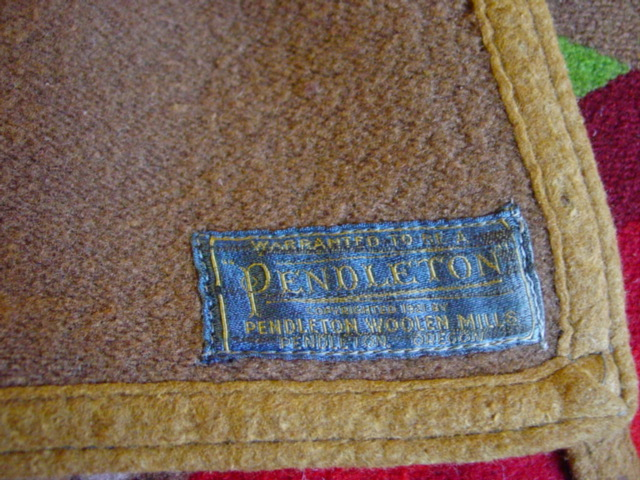 original Pendleton label- copyright 1921, third label